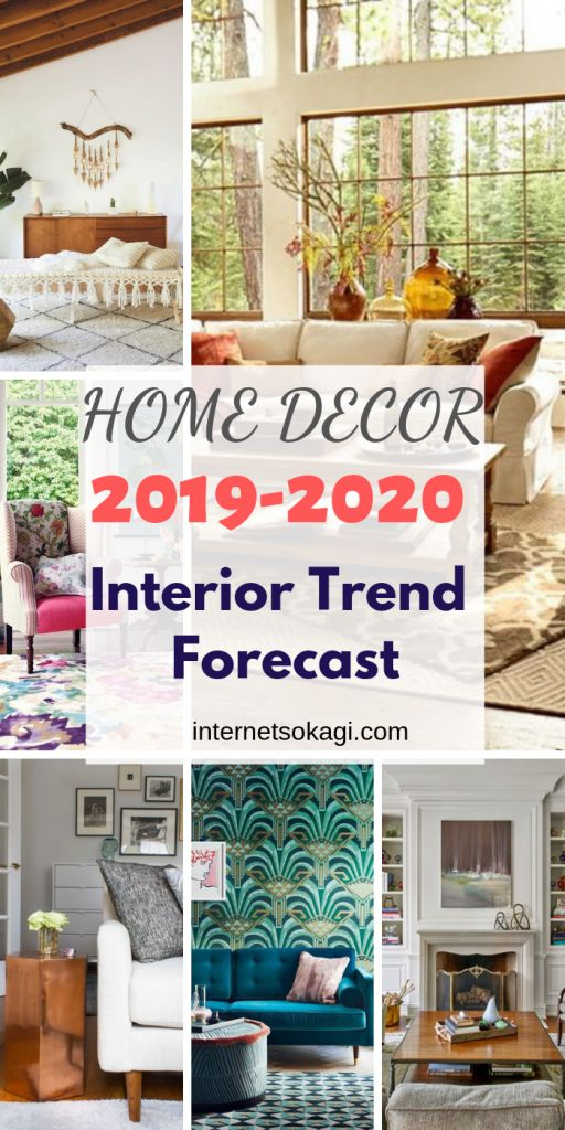 Home Decor Trends 2019 - 2020 / Interior Trend Forecast