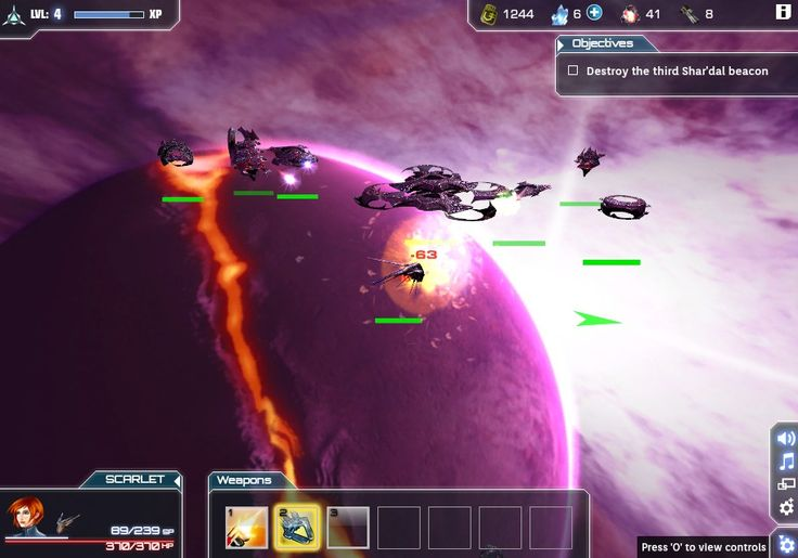 Starforce Delta - Browser Game from MMOHUNTER.COM
