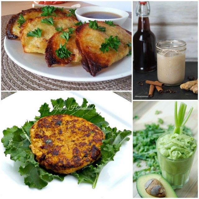 Phoenix Helix Paleo AIP Recipe Roundtable #78! Potstickers ~ Chai Tea Concentrate ~ Hunger Control Smoothie ~ Salmon Patties.