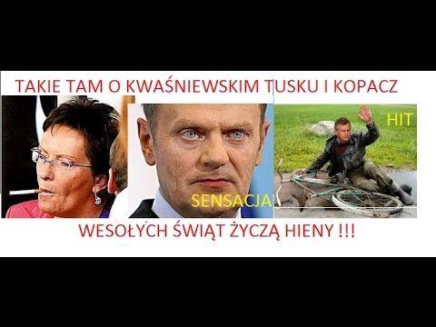 Nietypowa składanka o Kwaśniewskim Tusku i Kopacz - teraz to już tylko m...