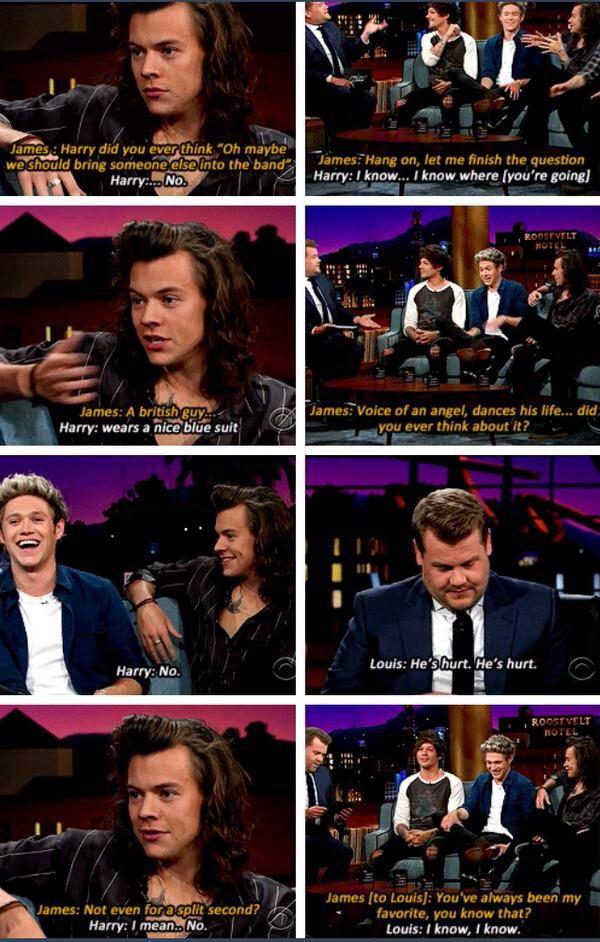 probably the meanest Harry gets lol