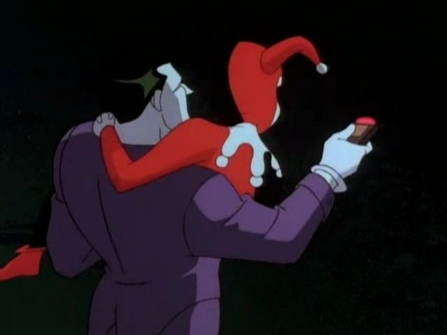 batman the animated series, harlequinade. batman la serie animada, arlequinadas. joker guason harley quinn