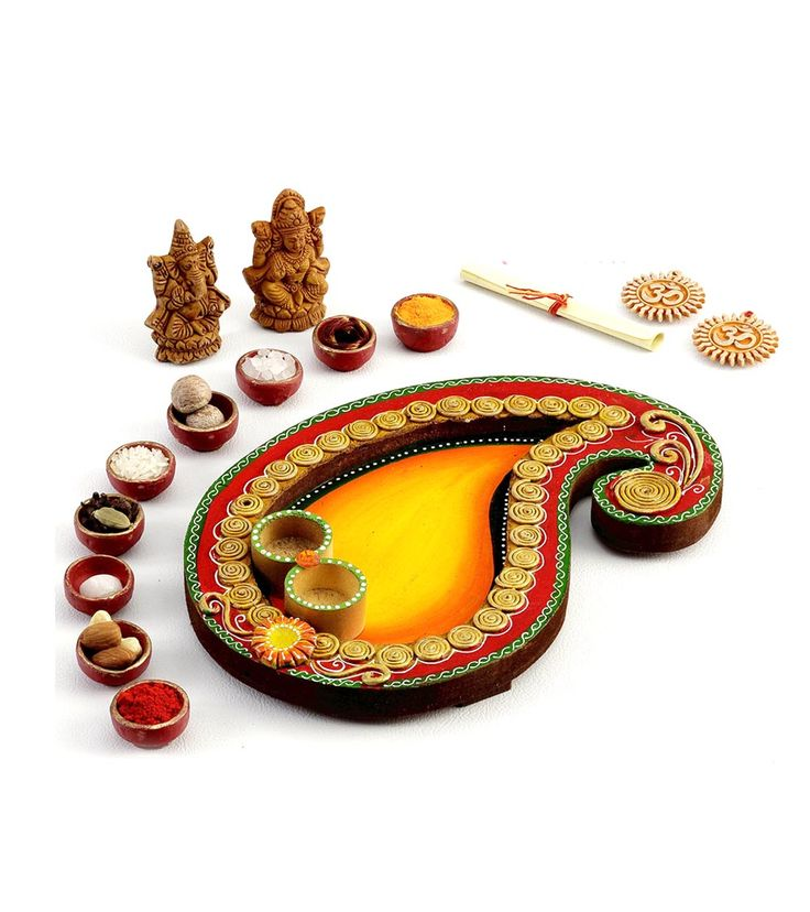 145 best images about thali festival on pinterest lunch for Aarti thali decoration with rice