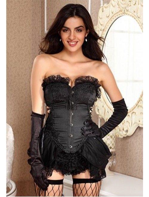 Satin Burlesque Long Line Embroidered Corset a webshopunkban! Ha ma rendelsz, ingyen kiszallitjuk neked! If you order today, we give you free delivery #divat #fashion #deal #offer #saturdaydeal #freedelivery #tanitafashion http://j.mp/tf-burlesque-embroidered-corset