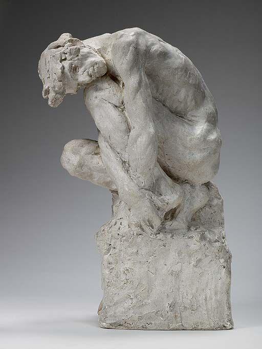 'El hombre inclinado' (1886) Camille Claudel