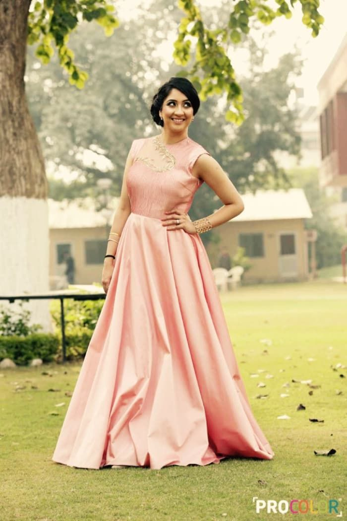 Bridal Wear - The Beautiful Bride! Photos, Punjabi Culture, Beige Color, Bridal Makeup, Candid Clicks, Wedding Gowns pictures, images, Vendor Credits - WeddingPlz