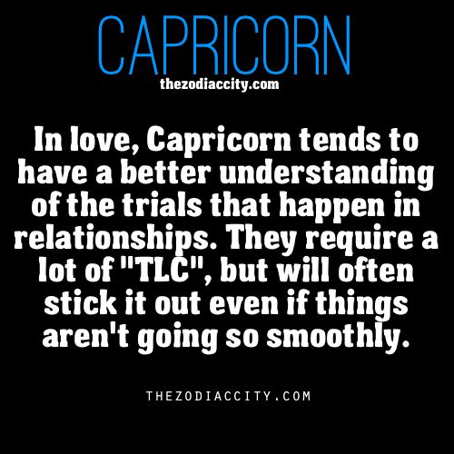 capricorns in a relationship