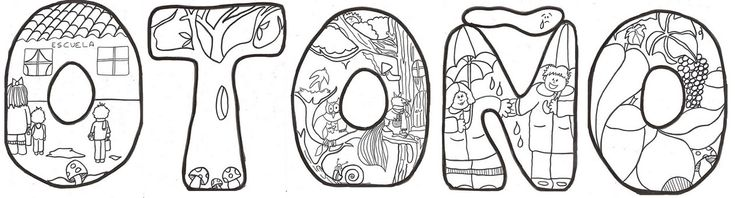 temas del otono | Cartel de Otoño