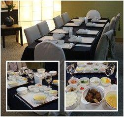 * 지하 1층에 위치하고 있는 서울파트너스하우스의 식당과 메뉴들..