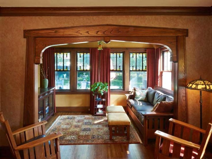 25 Best Ideas About Craftsman Interior On Pinterest