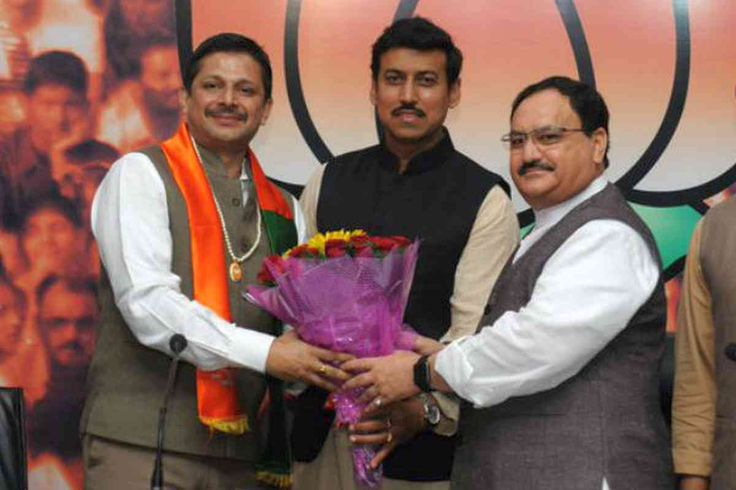 """Share or Comment on: """"INDIA: Colonel Diptanshu Chaudhary Joins BJP"""" - http://www.politicoscope.com/wp-content/uploads/2016/03/Diptanshu-Chaudhary-India-Politics-News.jpg - Nadda said the former Army officer was among those who were deployed in the Kargil war from the first day to the last.  on Politicoscope: Politics - http://www.politicoscope.com/2016/03/18/india-colonel-diptanshu-chaudhary-joins-bjp/."""