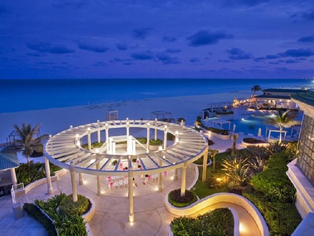 Sandos Cancun Luxury Experience Resort Mexico   Cancun Overlooking The  White Sand Beaches And Turquoise