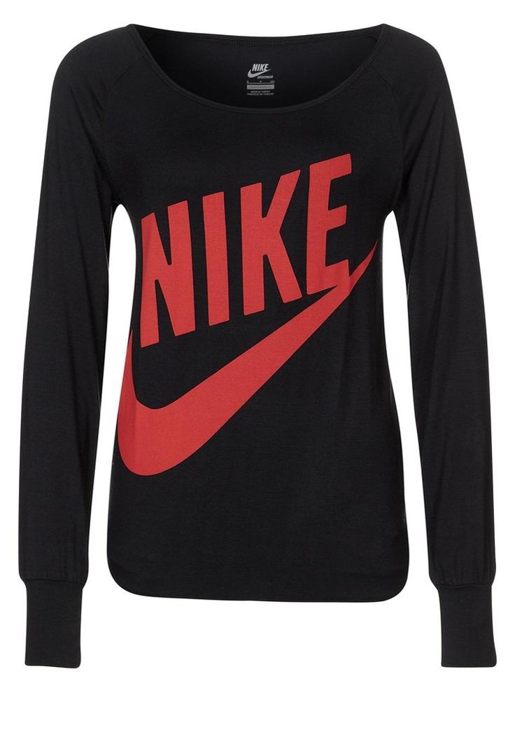 Nike Sportswear - Langærmede T-shirts - sort