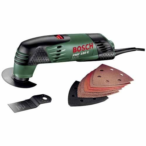 Bosch Multitool 180w SKU# 267232    MODEL PMF180E