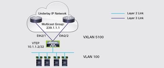 Cisco Nexus 9300 VTEP Example