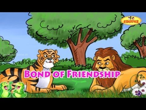 Bond of Friendship || English Moral Story For Kids