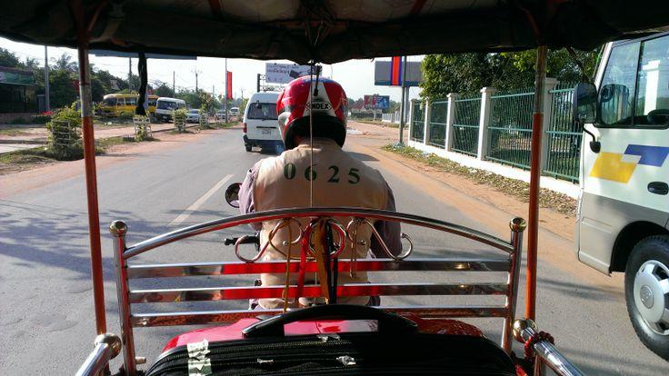 Tuktuk-taxi! Siem Reap, Cambodia.