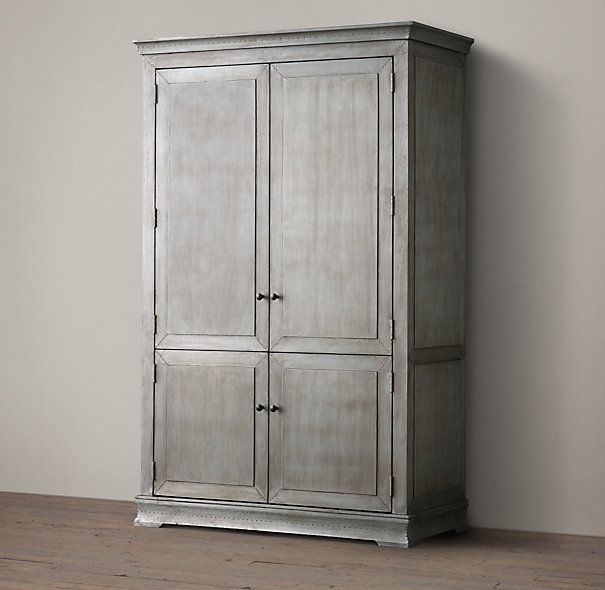 Annecy Metal Wrapped Armoire In 2019 Dresser Armoire