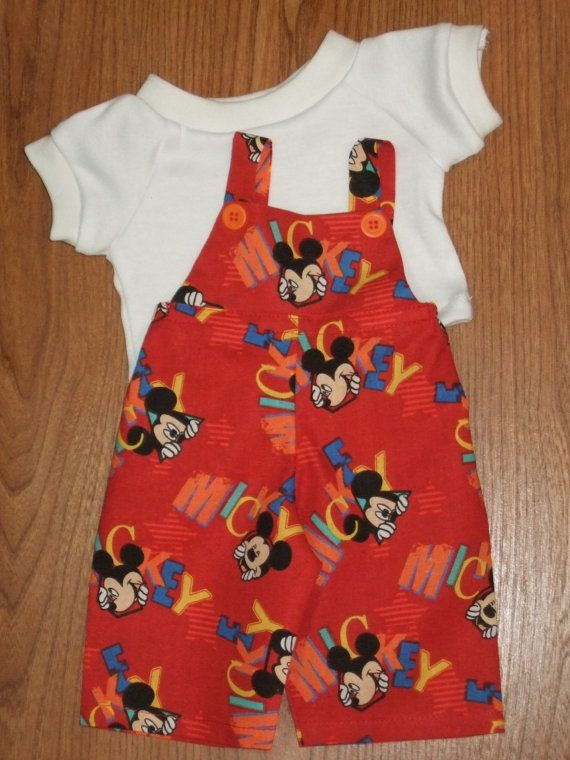 NEW For Cabbage Patch Kids Boy Doll Clothes 16 MICKEY