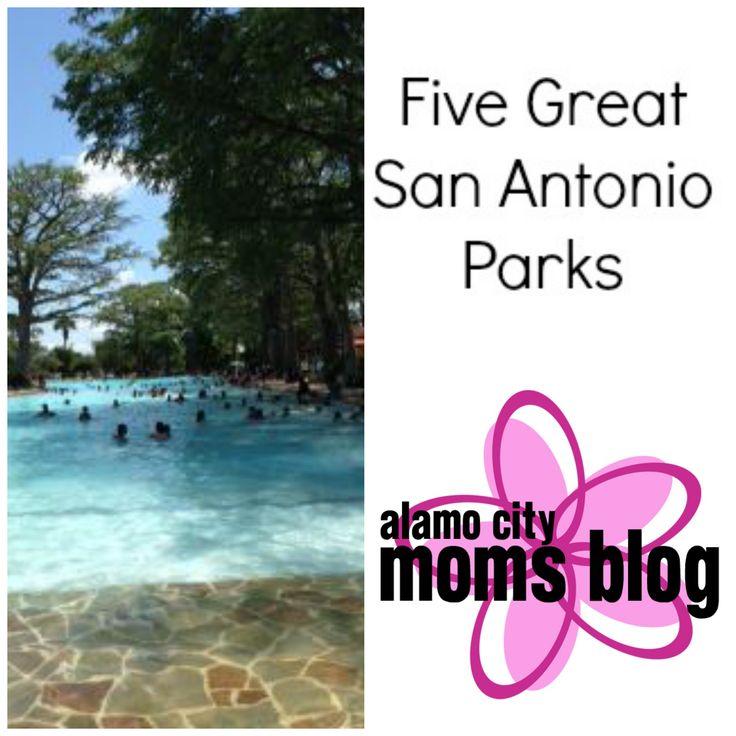 Five Great San Antonio Parks!  #sanantonio #kids