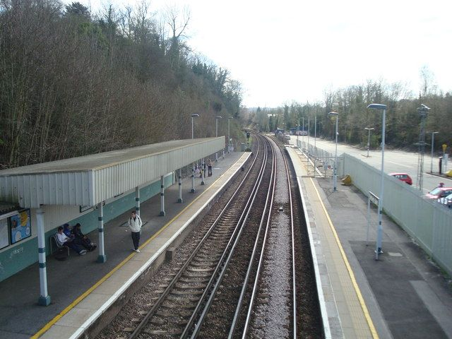 Upper Warlingham Railway Station (UWL) in Whyteleafe, Greater London