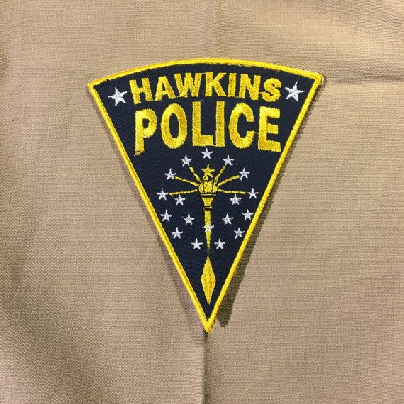 Hawkins Police patch - Stranger Things