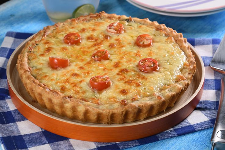 Quiche de Atún con Pasta Hojaldre Fácil | https://lomejordelaweb.e