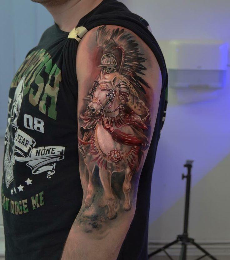 Husaria Tattoo. Artist Dominik Szymkowiak. Artline studio. www.arttattoo.pl