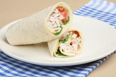 Chicken salad wrap Jorge Cruise recipe
