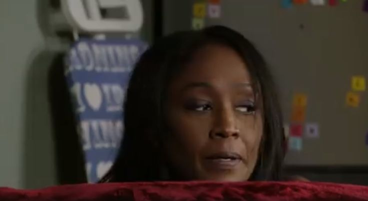 EastEnders spoilers tease that Walford's happy couple, Denise and Kush, could face a few bumps down the road.  Denise and Kush have been seemingly avoiding drama on the BBC soap opera, but recently Denise got quite a shock when she and her beau's flirty Christmas romp was rudely interrupted by his a