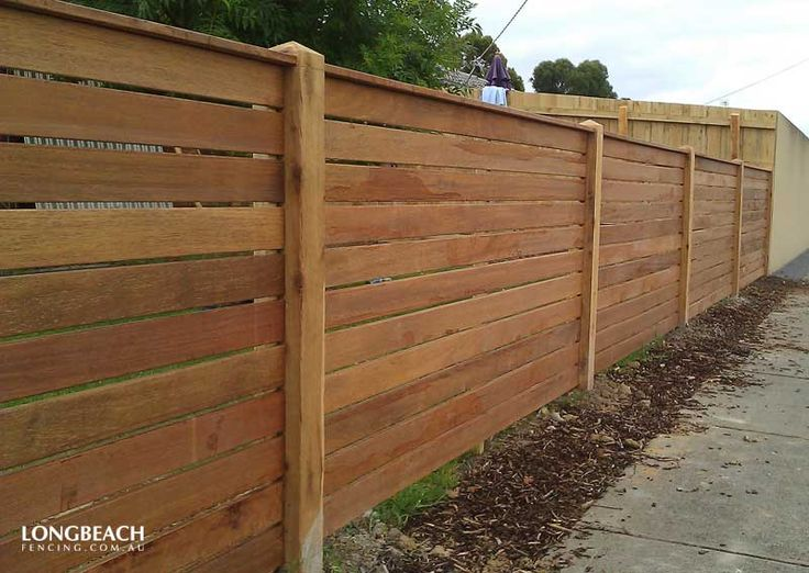 Merbau Fences Merbau Timber Feature Melbourne