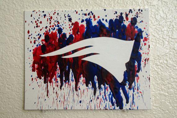 Super Bowl Champion New England Patriots by MikeAndKatieMakeArt
