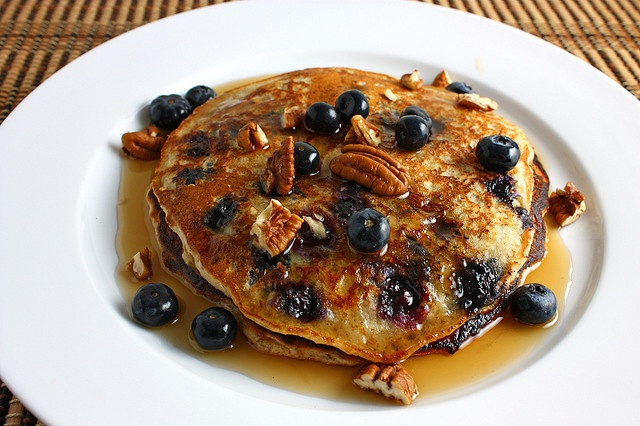 Blueberry Oatmeal Pancakes by Kevin - Closet Cooking, via Flickr