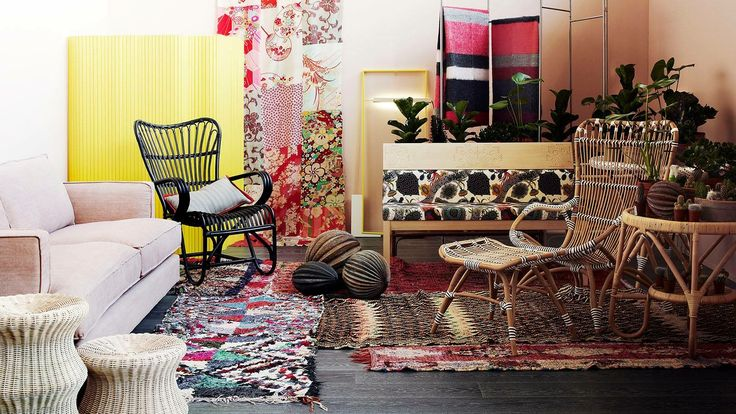 Vintage Lumikenkä tuoli musta, Chantal tuoli ja raho