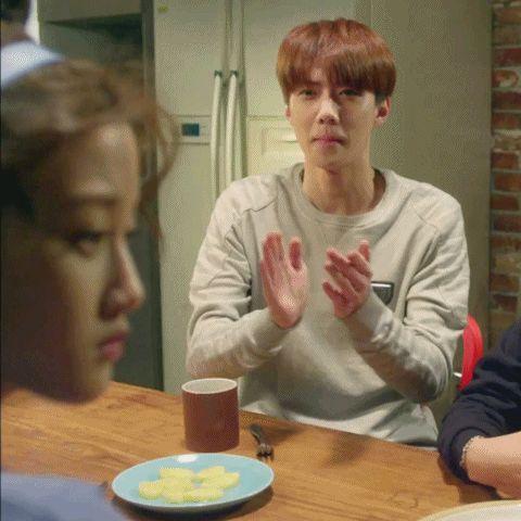 sehun on exo next door