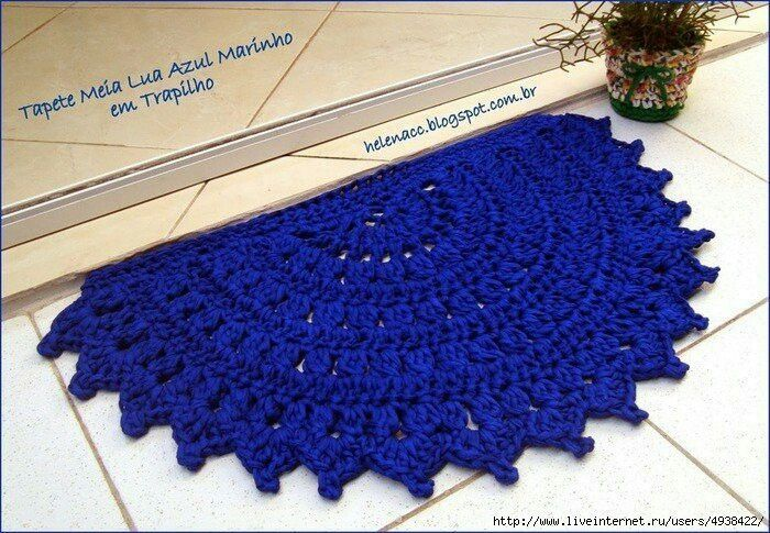 115 best Crocheted thresholds for flooring images on Pinterest ...