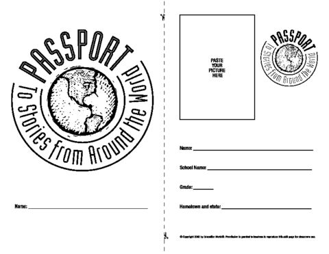 stories around the world passport | Homeschool - Geography ...