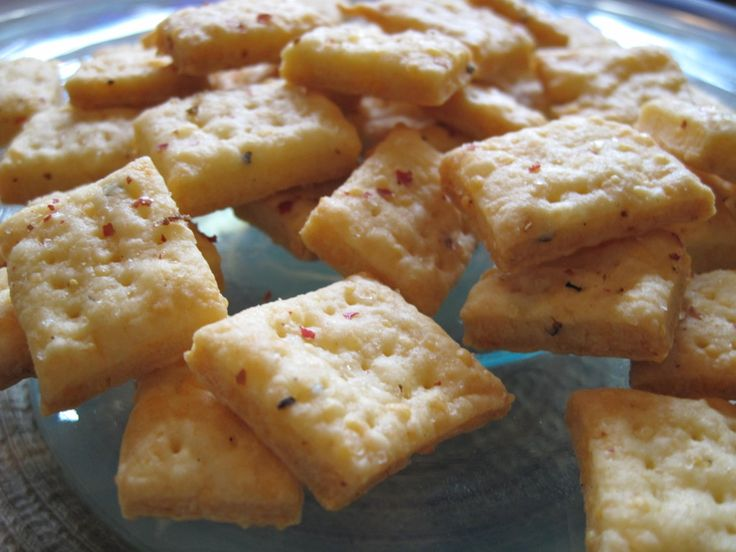 Sharp Cheddar Cheese Crackers Recipe | Front of House Spanish Tragedi ...