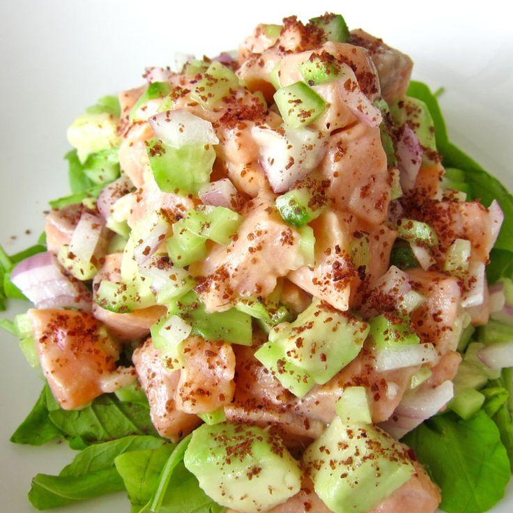 clark whole30 recipes fish recipes salmon avocado avocado salads ...
