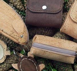 Cute cork key holders