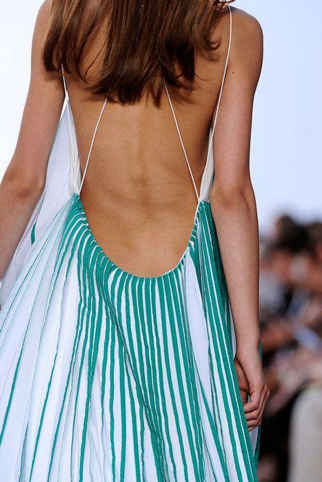 chloé: Summer Dresses, Sexy, Back Dresses, Backless Dresses, Beautiful Dresses, Chloe, Spring 2012, Open Back, Dreamy Dresses