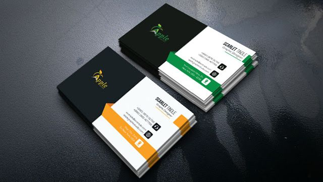 Best Business Card Design Tutorial In Photoshop Cc Apple Graphic Studio Cool Business Cards Business Card Design Free Business Card Maker