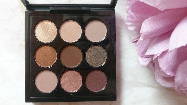 MAC Burgundy Times Nine Palette Review & Swatches