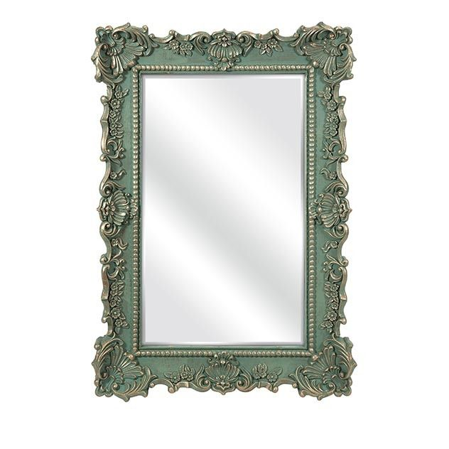 Highly dDecorative Green Wall Mirror