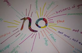 Boundaries- the art of saying no. Interesting choosing this one for positive psychology but somehow I think it pertains.