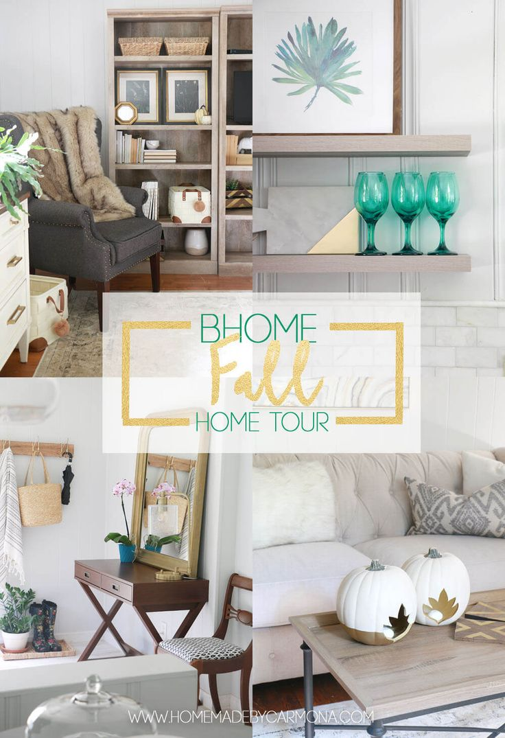 Home Tours 74 Best Fall Home Tours Images On Pinterest  Holiday Ideas