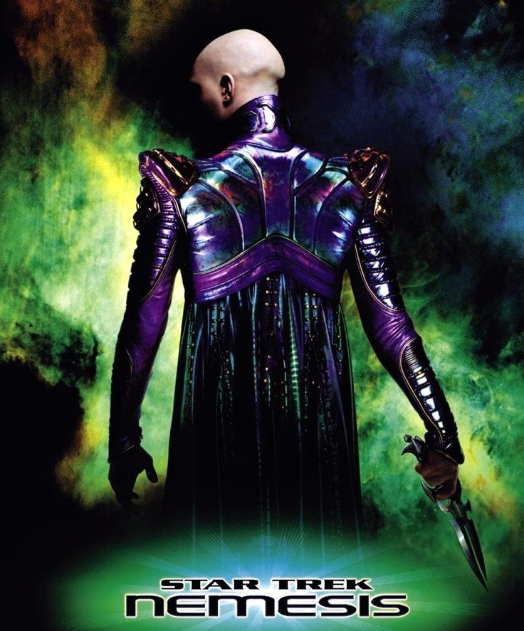 Tom Hardy in Star Trek Nemesis