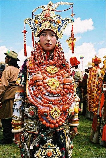 Khampa Tibetans Headdresses part 1