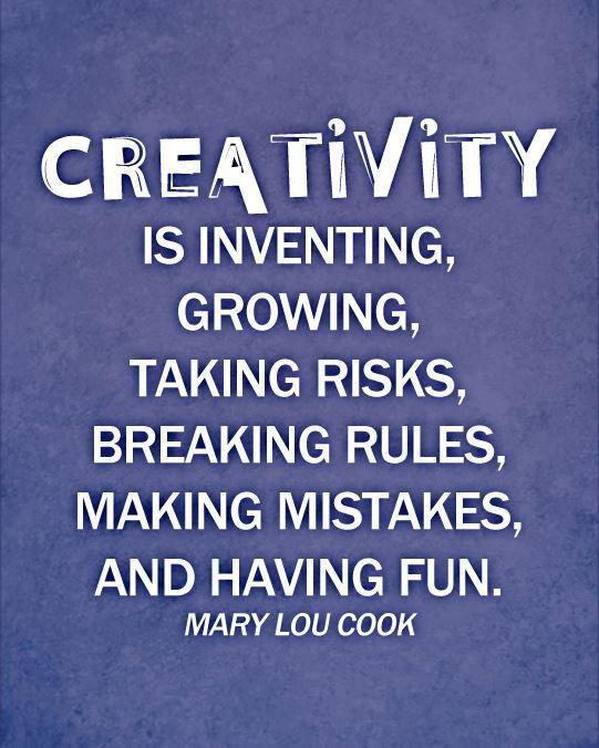 Creativity is Growing...