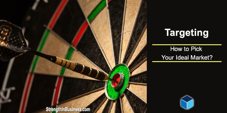 Discover the three mission-critical questions you need to ask yourself prior to launching your business.  http://www.strengthinbusiness.com/how-to-pick-your-ideal-market/  #marketingtips #marketing #targeting